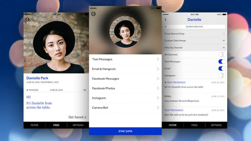 Shryne for iPhone Lets You Download and Archive Your Own Social History