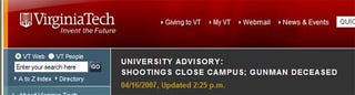 Illustration for article titled Shooting at Virginia Tech