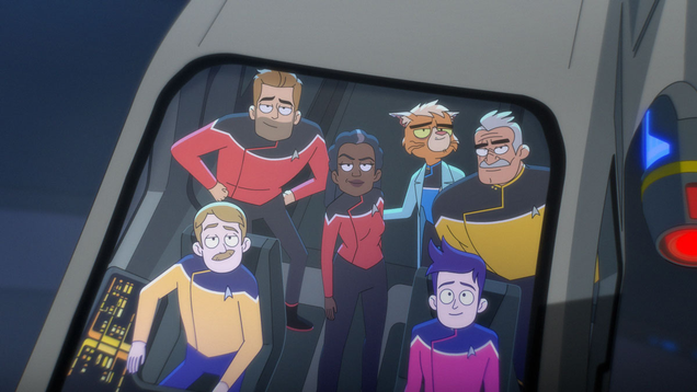 Lower Decks Paid Homage to Star Trek s Cinematic Legacy to Incredible Effect