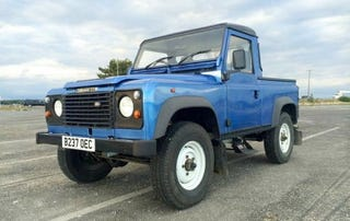 Illustration for article titled Could You Defend Paying $20,000 for This 1985 Land Rover 90?