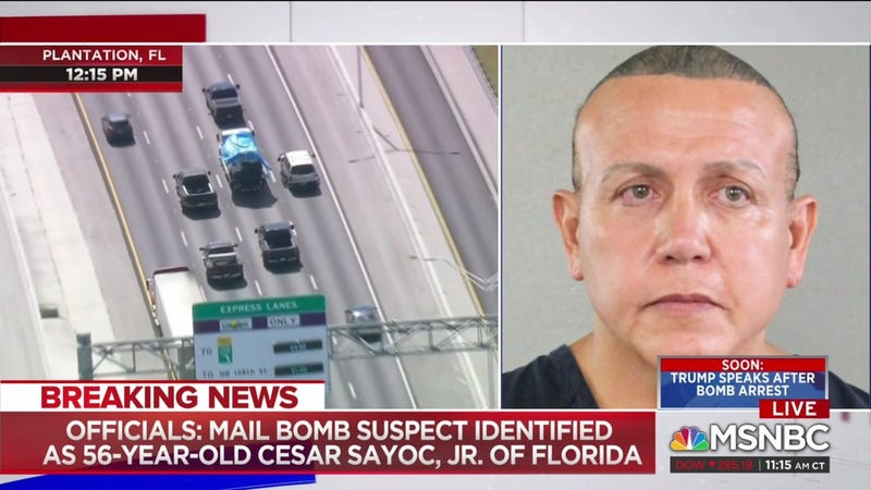 Illustration for article titled Yeah, I'm Just Glad Cesar Sayoc Ain't Black