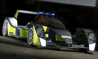 Illustration for article titled Dream On Johnny Law! Caparo T1 Cop Car