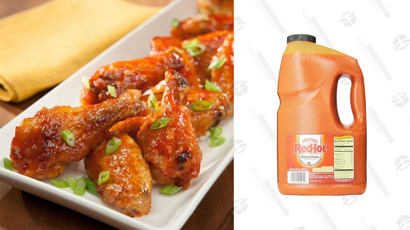 Frank's RedHot Original Cayenne Pepper Sauce (160 oz) | $9 | Amazon