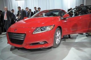 Illustration for article titled Honda CR-Z: Detroit Show Live Photos