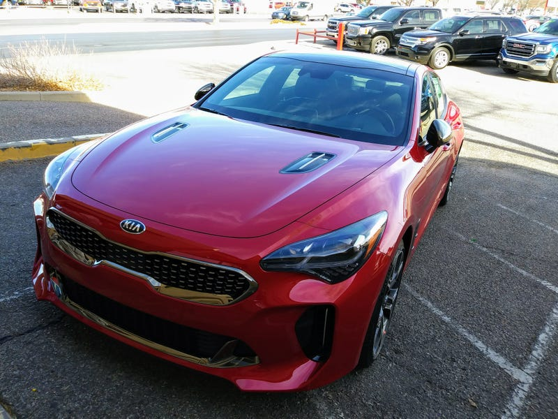 Illustration for article titled Wobbles Has Now Driven a Kia Stinger GT!!