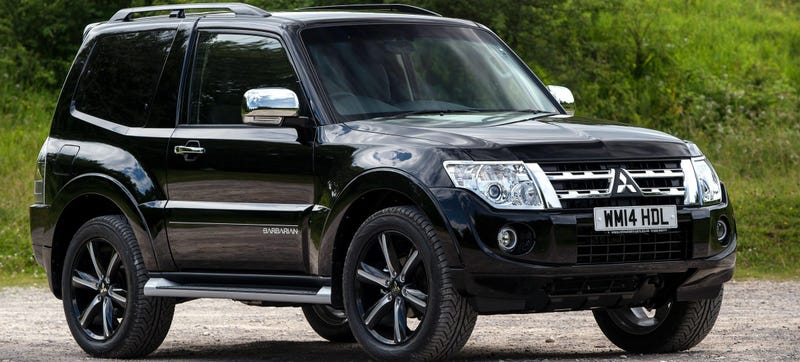 The Mitsubishi Shogun Swb Is The Type Of Suv That S Extinct In America