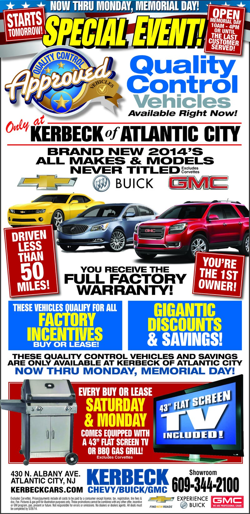 """Illustration for article titled GM Dealer Has """"Quality Control"""" Vehicle Sale"""