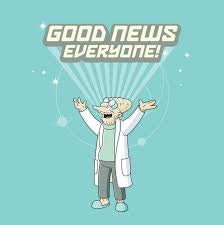 Illustration for article titled Good News, Everyone!