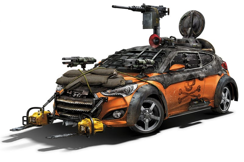 You Can Now Build Your Own Hyundai Zombie Apocalypse Survival Machine.