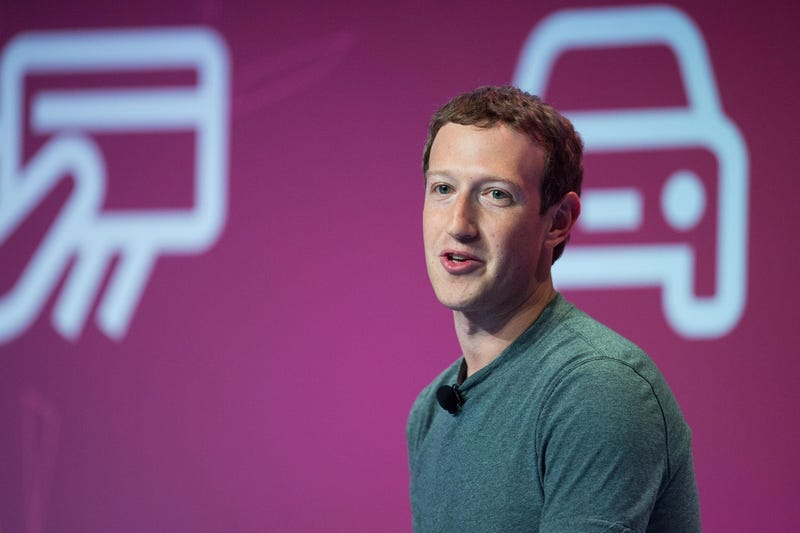 Facebook CEO Mark Zuckerberg in Spain earlier this year (Photo by David Ramos/Getty Images)