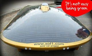 Illustration for article titled Solar Car Mistaken for UFO, Gets Pulled over by Alaskan Police