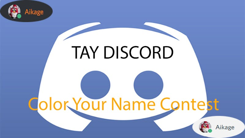 Illustration for article titled Discord Contest:  Name Color Change