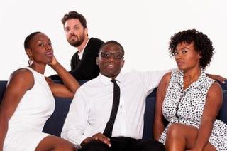 The creators of Black&Sexy TV: Jeanine Daniels, Brian Ali Harding, Dennis Dortch and Numa PerrierCourtesy of Black&Sexy TV