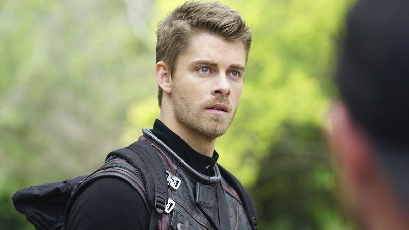 Luke Mitchell as Lincoln Campbell on Marvel's Agents Of S.H.I.E.L.D.