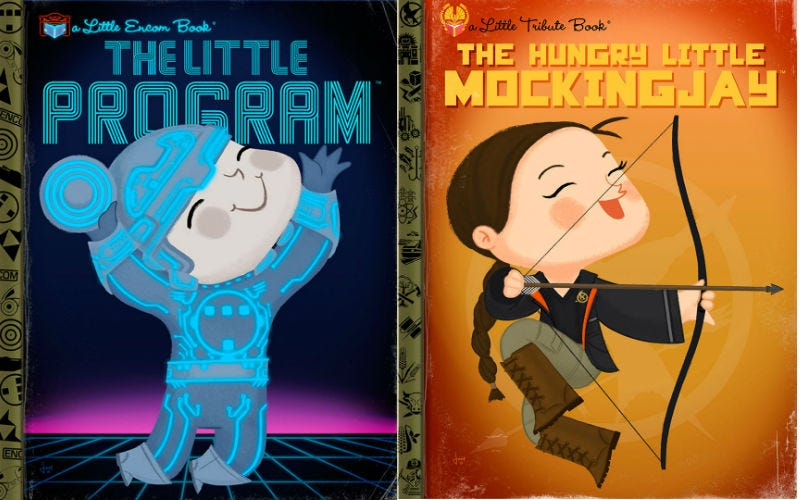 Illustration for article titled 18 of Your Favorite Pop Culture Icons Turned Into Kids Book Covers