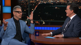 Jeff Goldblum, Stephen Colbert