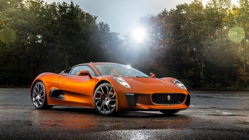 Jaguar C-X75 Concept Car. Photo: Jaguar