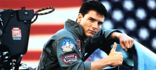 Illustration for article titled Brutally honest Top Gun trailer shows how ridiculous this movie is