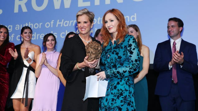 J.K. Rowling And The Pettily Returned Kennedy Award