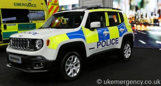 Illustration for article titled Jeep Renegade Police Demonstrator