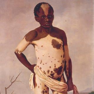 Joaquim Manuel Rocha, Ciriaco, 1786, oil on canvas, 137 by 83 cm. (Museo Nacional de Etnología, Madrid)
