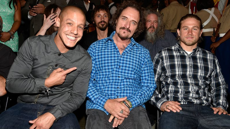 Illustration for article titled Caption This Photo of the Men of Sons of Anarchy