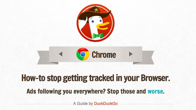 Illustration for article titled FixTracking Shows You How to Browse Securely and Privately on Any Browser