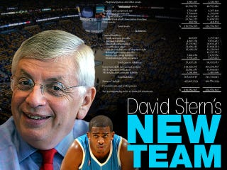 Illustration for article titled The New Orleans Hornets' Sad Financial Documents