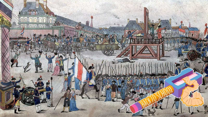 The execution of Robespierre (Image via Wikimedia Commons)