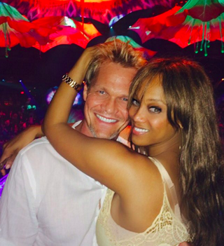 Erik Asla and Tyra BanksInstagram