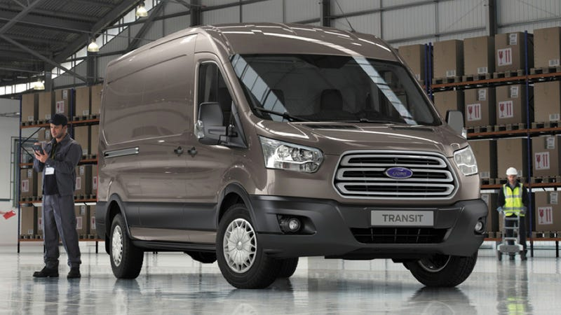 Illustration for article titled The New Ford Transit WIll Probably Come With A 3.2-liter I5 Diesel
