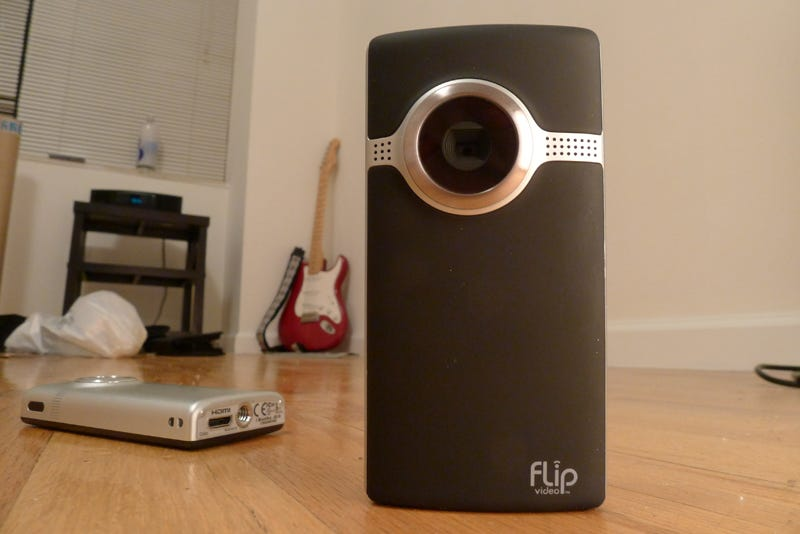Illustration for article titled The New Flip HD Pocket Cams: Like the Old Flips, But Smoother