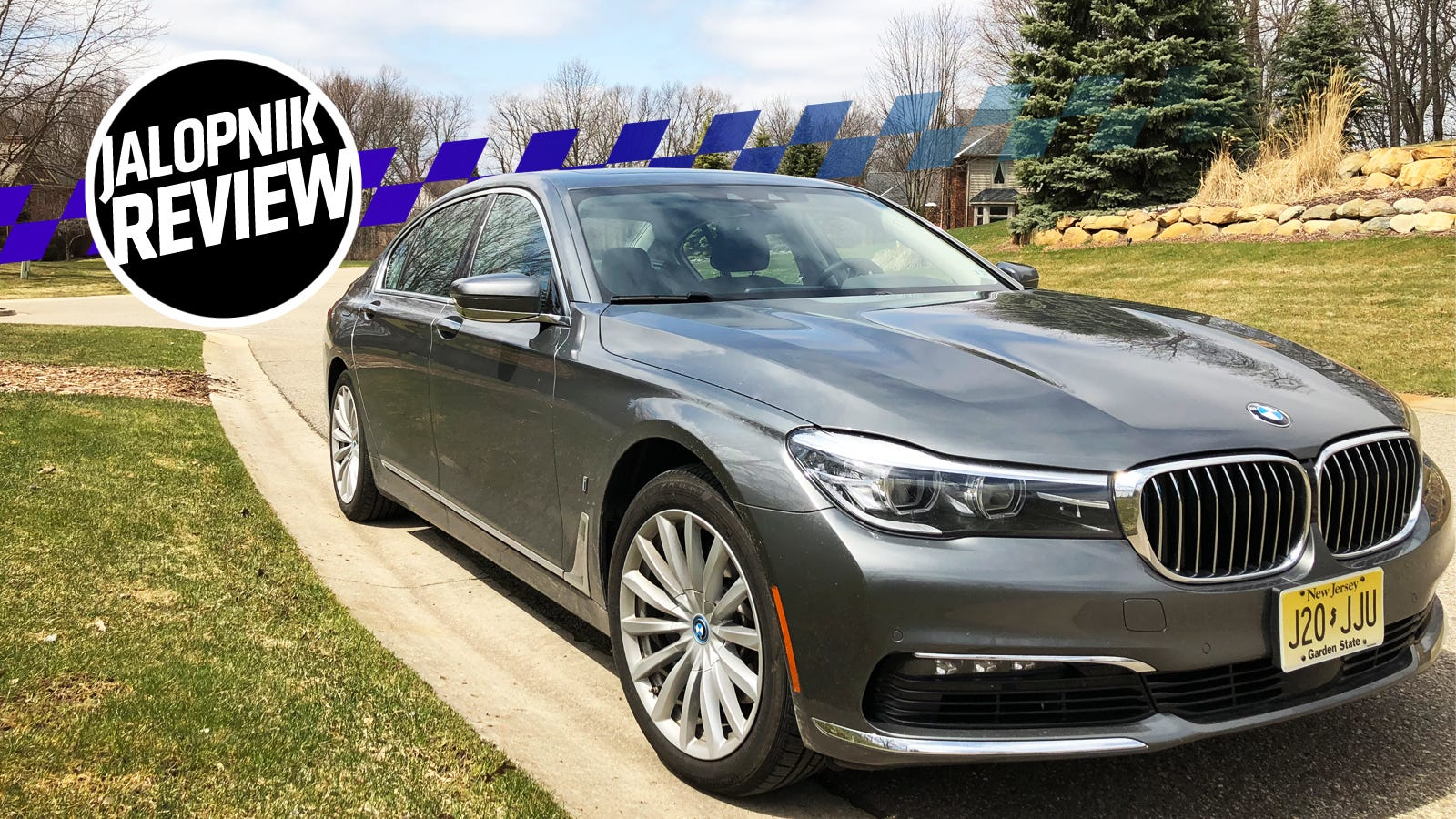 The 2018 BMW 740e xDrive PHEV Is A Beautiful Car Spoiled By