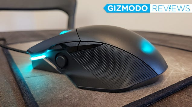 If You Hate Side Buttons, Asus  Joystick Gaming Mouse Is Perfect