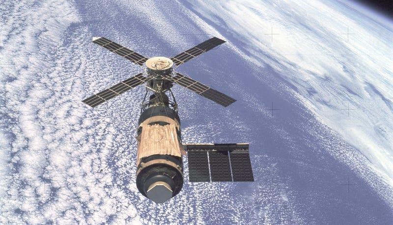 Illustration for article titled Does anyone else remember Skylab?