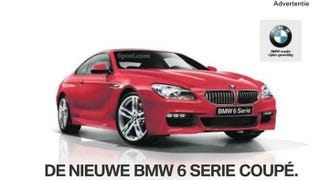 Illustration for article titled New BMW 6-Series M-Sport gets a chin-job