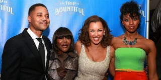 Cuba Gooding Jr., Cicely Tyson, Vanessa Williams, Condola Rashad at 'The Trip to Bountiful' opening-night after-party (Getty)
