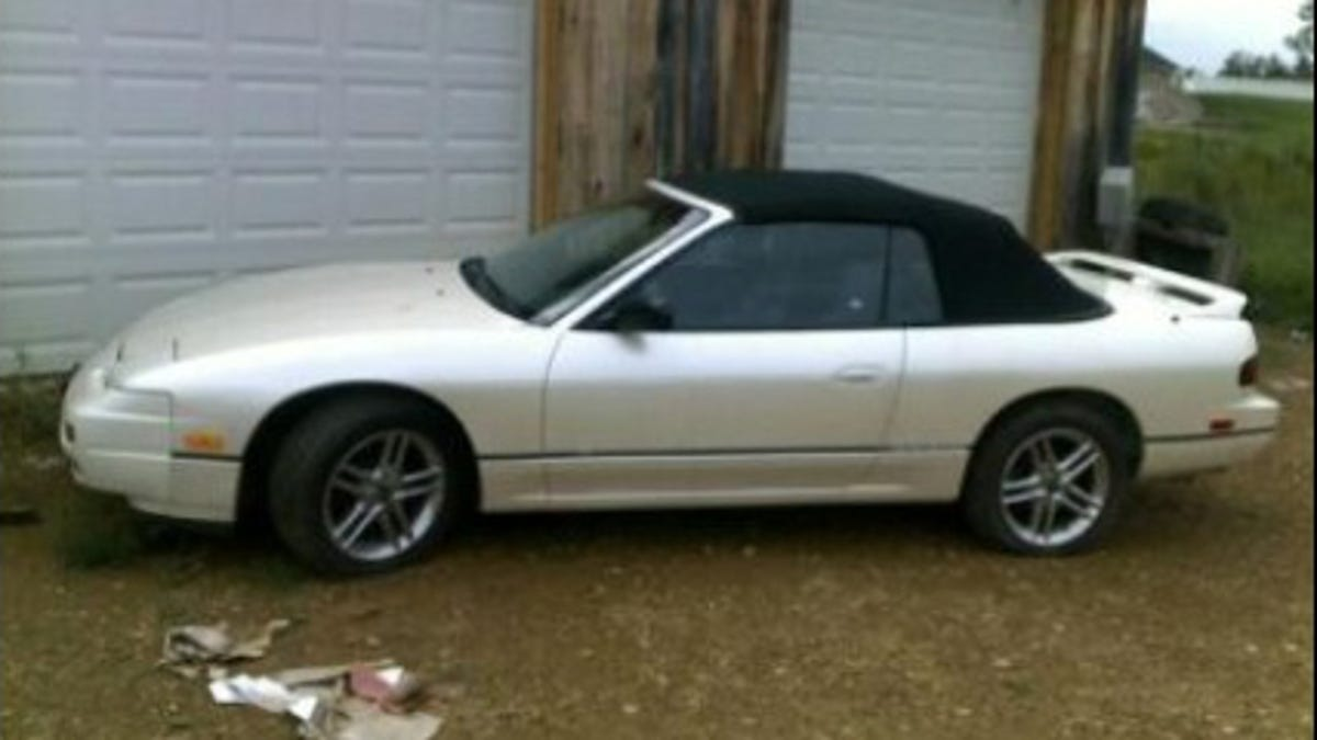 This Nissan 240SX Convertible Was a Legendary Rip-Off From