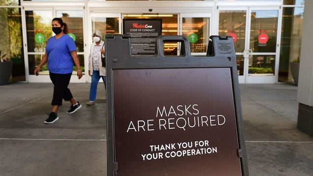 California Does the Smart Thing and Orders Residents to Wear Face Masks in Public