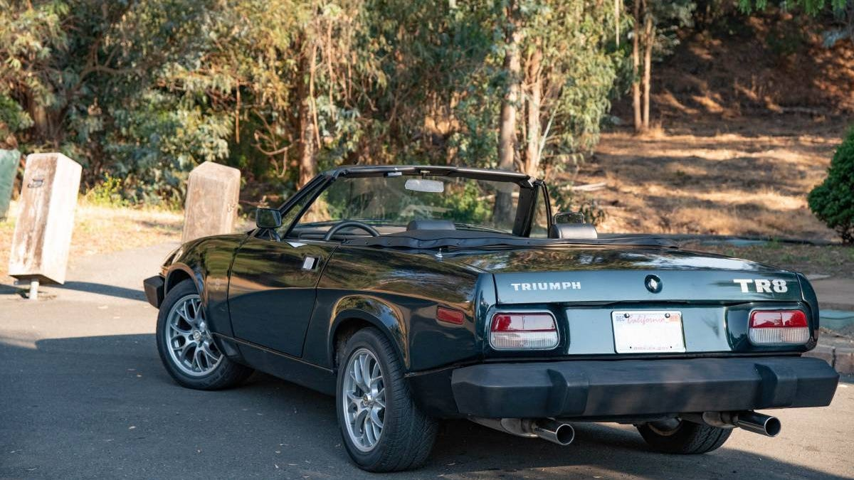 At $12,900, Might You Turn This 1980 Triumph TR8 Into a