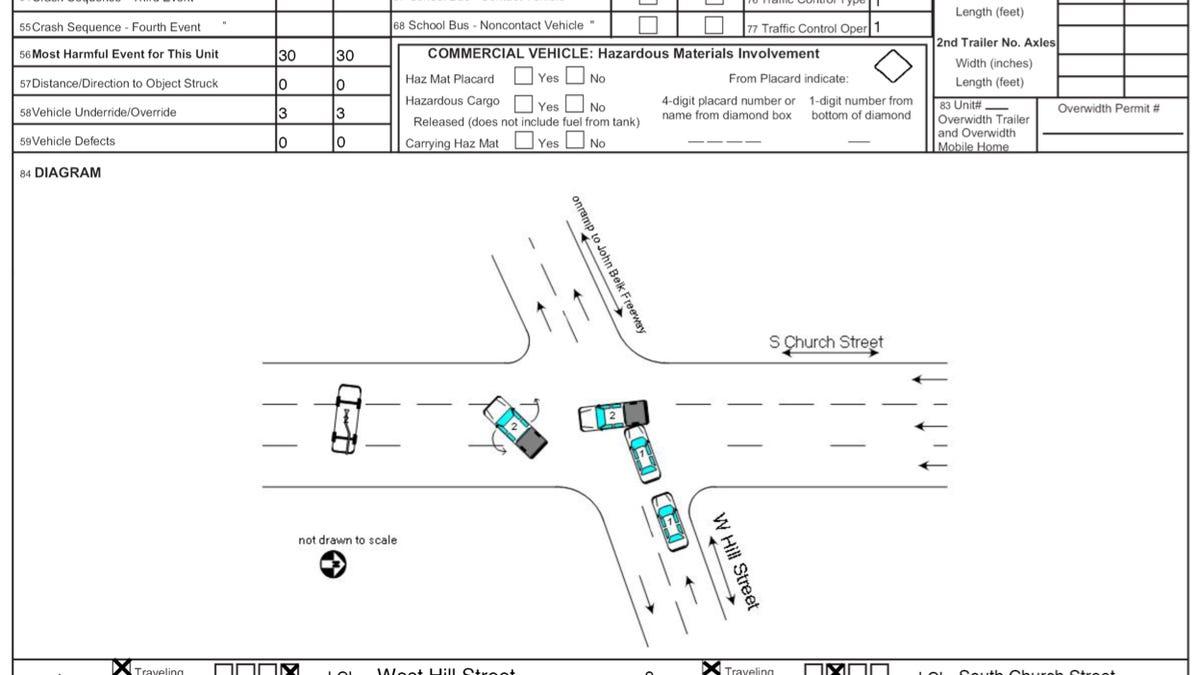 Nice Vehicle Accident Diagram Adornment - Wiring Diagram Ideas ...