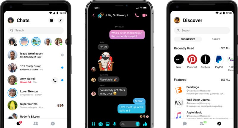 Facebook Finally Adding Dark Mode to Messenger in 'Near Future'