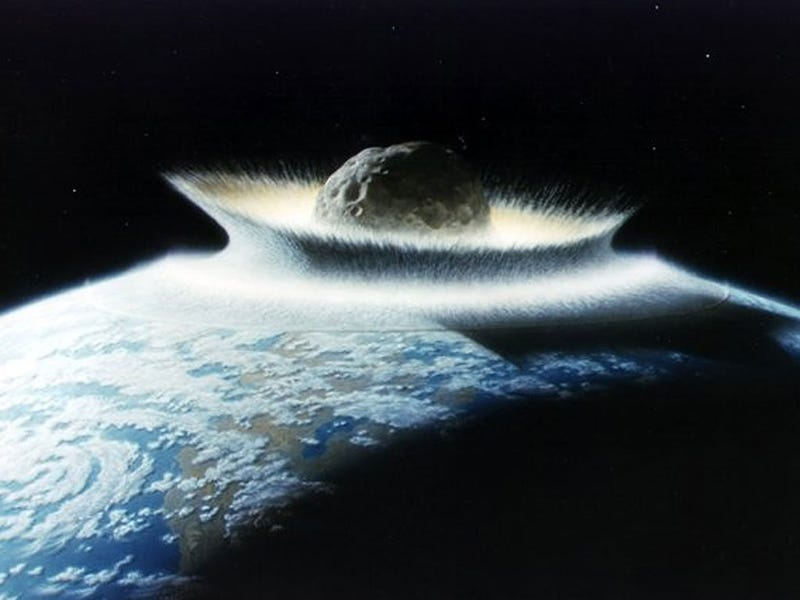 Illustration for article titled A Shield That Could Protect Earth Against Asteroid Strikes