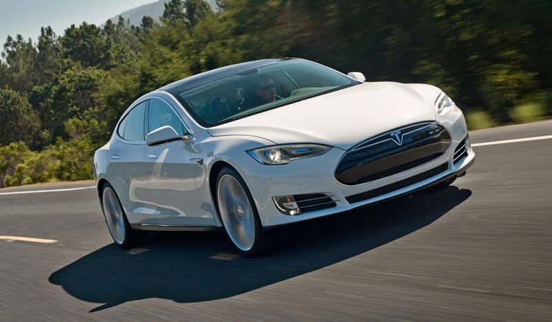 Someone Is Finally Racing A Tesla Model S Up Pikes Peak