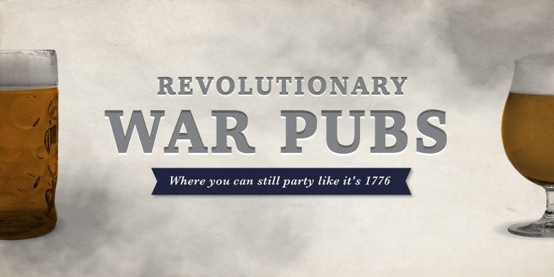 Illustration for article titled Party like a Founding Father: Declare independence at these Revolution-era pubs
