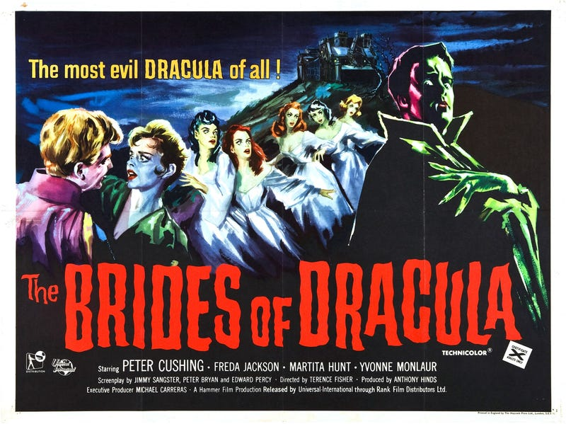 Illustration for article titled Svengoolie:  The Brides of Dracula (1960)