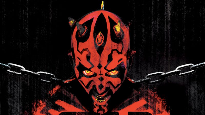 Illustration for article titled The guy who put zombies in the Star Wars universe is sending Darth Maul behind bars