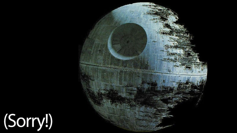 Illustration for article titled White House Responds To Death Star Petition: 'The Administration Does Not Support Blowing Up Planets'