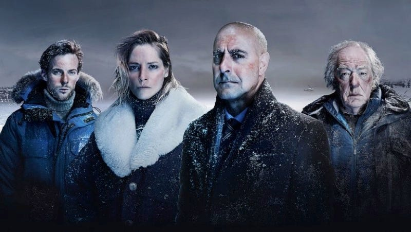 Fortitude's first season cast included Luke Treadaway, Sienna Guillory, Stanley Tucci, and Michael Gambon. Image: Sky Atlantic