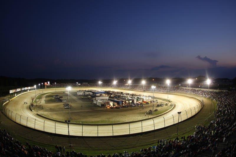 A 2009 photo of Eldora Speedway, during the annual Prelude to the Dream charity event. Photo credit: Chris Graythen/Getty Images